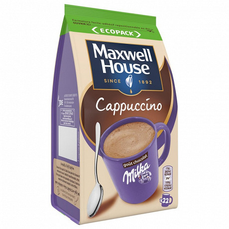 Maxwell House cappuccino milka 335g