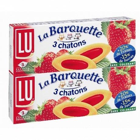 Lu Barquette fraise x2 240g