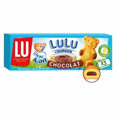 Lulu l'ourson chocolat 150g