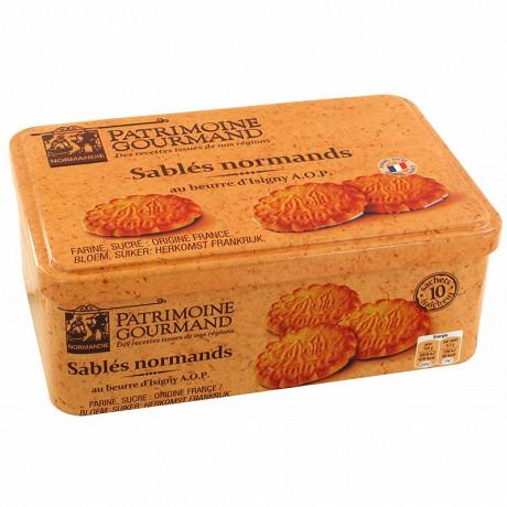 Patrimoine gourmand sablés normands au beurre d'isigny aop 310 g