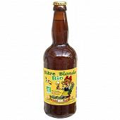 Bière bio blonde 50cl 5.6% Vol.