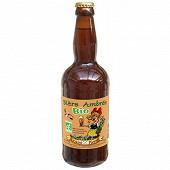 Bière bio ambrée 50cl 5.8% Vol.
