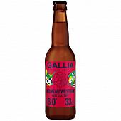 Gallia West ipa bière parisienne 33cl 6%vol