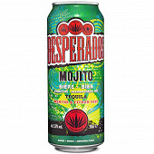 Desperados mojito bière aromatisée téquila, menthe, citron 50cl 5.9%vol
