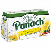 Panach bière panaché sans alcool 10x25cl 0.45%vol