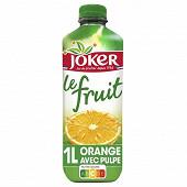 Joker le fruit orange avec pulpe 1l