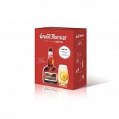 Grand marnier cordon rouge 40% vol 70cl + verre