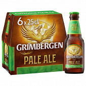 Grimbergen pale ale 6x25CL 5.5%vol