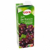 Cora jus de raisin brique 1l