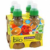 Nature bio nectar multifruits sans sucre ajouté 4x20cl