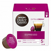 Nescafé Dolce Gusto Espresso, capsule café intensité 5 - x30 dosettes