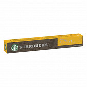 Starbucks by Nespresso blonde espresso roast, capsule café torréfaction blonde x10