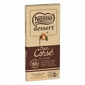 Nestlé Dessert tablette de chocolat noir corsé 200g