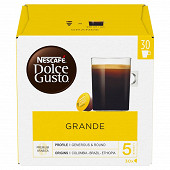 Nescafé Dolce Gusto Grande, capsule café intensité 5 - 30 dosettes