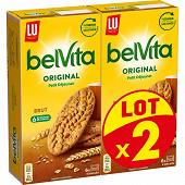 Lu belvita original petit déjeuner brut céréales 2x400g