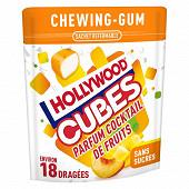Hollywood cubes cocktail de fruits 41g