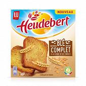 Heudeubert biscotte de blé complet 280g
