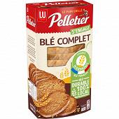 Pelletier pain grillé blé complet 240g
