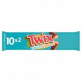 Twix biscuits enrobés de chocolat et caramel salé x10 460g