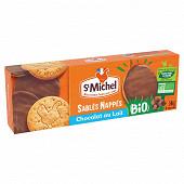 St michel sablés nappés chocolat bio 140g