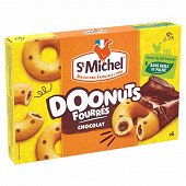 St michel donuts fourrés chocolat 180g