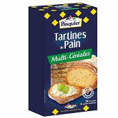 Pasquier tartines de pain multi céréales 240g