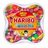 Haribo world mix méga boîte 900g