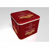 La mère poulard coffret fer sablés eclats de chocolat gamme1888 500g