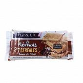 Fossier le rémois 7 céréales pépites de chocolat 310g