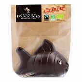 Les chevaliers d'argouges poisson chocolat noir bio 70g
