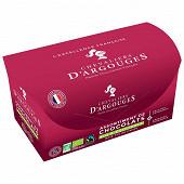 Les chevaliers d'argouges assortiment chocolat noir ballotin bio 180g