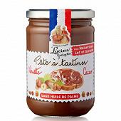 Lucien Georgelin pâte à tartiner aux noisettes du lot et garonne cacao sans huile de palme 600g