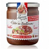 Lucien Georgelin pâte à tartiner noisette cacao sans huile de palme 400g