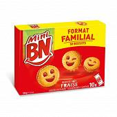 Bn mini fraise 10 pochons format familial 350g