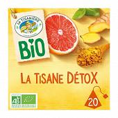 La tisaniere bio detox x20 30g