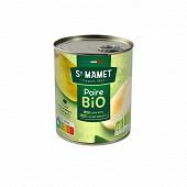 St Mamet poire williams bio boite 4/4 455g net égoutté