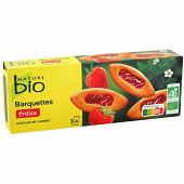 Nature bio barquette fraise bio 120g