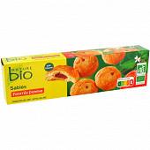 Nature bio sables au beurre coeur de pomme bio 100g