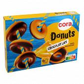 Cora donuts nappé chocolat 180g