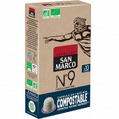 San marco n°9 capsules bio/compostable 51g