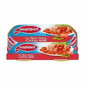 Saupiquet thon sauce catalane 1/6 135g x2