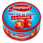 Saupiquet miettes de thon à la tomate 1/5 160g