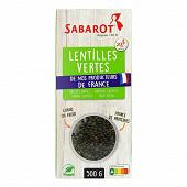 Sabarot lentille verte origine france 500g