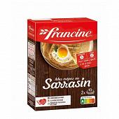 Francine préparation pour crêpes sarrasin 440g