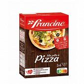 Francine farine  pâte à pizza 510g