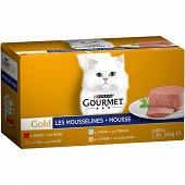 Gourmet gold mousse 4 x 85g