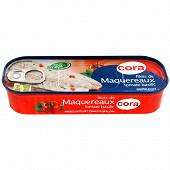 Cora filets de maquereaux tomate basilic 169g