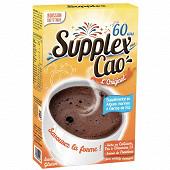 Supplex boisson chocolatée cao sans gluten 800g