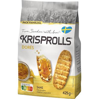 Krisprolls Krisprolls dorés 425g