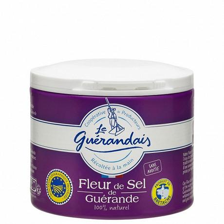 Le guerandais fleur de sel tradition pot 125g